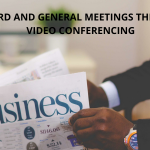 BOARD AND GENERAL MEETINGS THROUGH VIDEO CONFERENCING